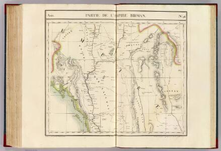 Partie, l'Empire Birman. Asie 96.