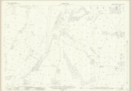 Monmouthshire XIII.14 (includes: Llanarth Fawr; Llanover Fawr) - 25 Inch Map