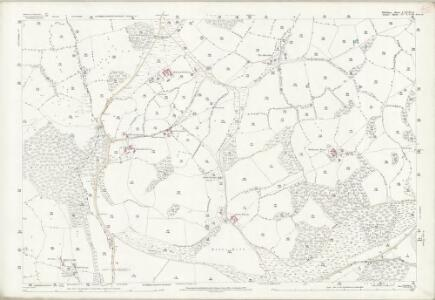 Wiltshire LXVIII.8 (includes: Donhead St Mary; Motcombe; Semley) - 25 Inch Map