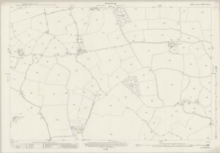 Essex (New Series 1913-) n XLIV.13 (includes: Chignall; Great Waltham; Mashbury; Pleshy) - 25 Inch Map