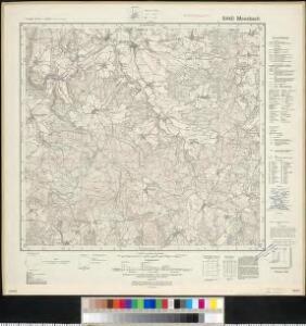 Meßtischblatt 6440 : Moosbach, 1943