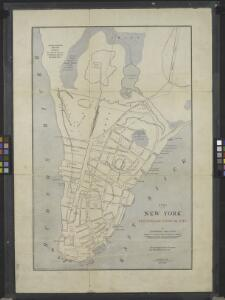 New York, the English colonial city, 1730 / [cartographic material]