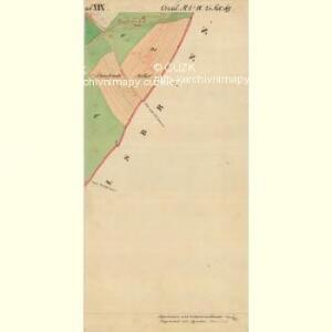 Nikolsburg - m1785-1-032 - Kaiserpflichtexemplar der Landkarten des stabilen Katasters