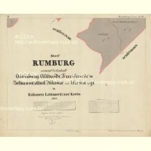 Rumburg - c6626-1-011 - Kaiserpflichtexemplar der Landkarten des stabilen Katasters