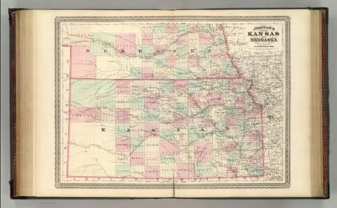 Kansas and Nebraska.