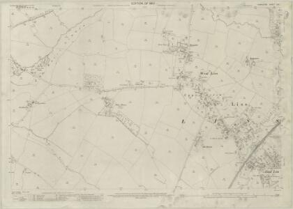 Hampshire and Isle of Wight LIII.1 (includes: Greatham; Hawkley; Liss) - 25 Inch Map