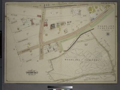 Double Page Plate No. 39, Part of Ward 24, Section 12. [Bounded by Jerome Ave, E, 233rd Steet, E. 234th Street, Webster Avenue, E. 211th Street, Wayne Avenue and E. 210th Street.]