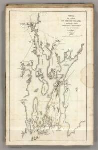 Position des Armees Americaine et Britannique, au Siege de Newport, et a l'affaire de 29 Aout 1778.