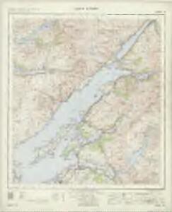 Loch Linnhe - OS One-Inch Map