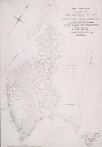 PLAN OF THE HAVERSTOCK HILL AND KENTISH TOWN ESTATE, being a portion of the FREEHOLD GROUND RENTS OF THE LORD SOUTHAMPTON