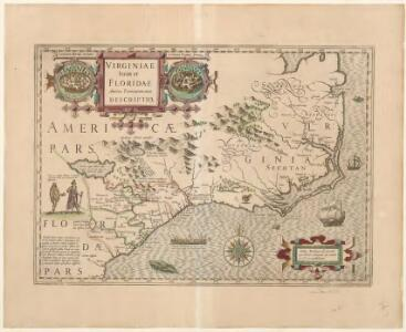 Virginiae item et Floridae Americae Provinciarum, nova descriptio