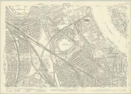 London (1915- Numbered sheets) IX.4 (includes: Bermondsey; Borough Of Greenwich; Deptford St Paul) - 25 Inch Map