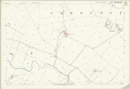 Huntingdonshire XIII.10 (includes: Buckworth; Hamerton; Sawtry; Steeple Gidding; Upton and Coppingford) - 25 Inch Map