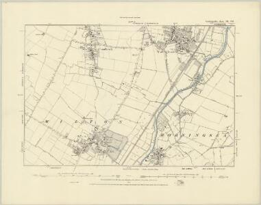 Cambridgeshire XL.NW - OS Six-Inch Map