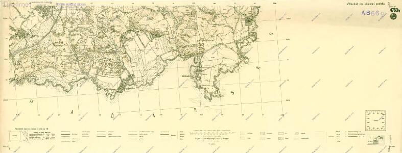 III. vojenské mapování 4763/3