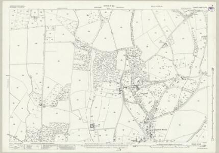Dorset XLIII.6 (includes: Lytchett Matravers; Lytchett Minster) - 25 Inch Map