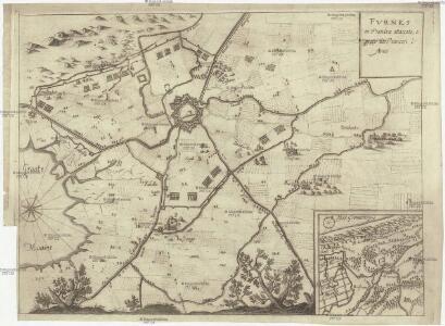 Fvrnes in Fiandra attaccato, e preso da Francesi l' anno