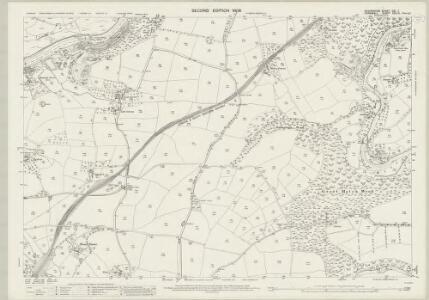 Devon CXI.7 (includes: Bere Ferrers; Buckland Monachorum; Calstock; Tavistock Hamlets) - 25 Inch Map