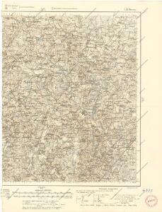 Karte des westlichen Russlands L19