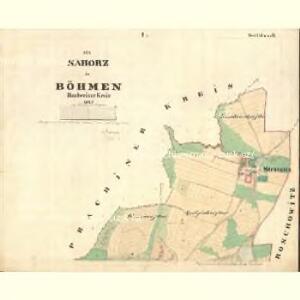 Saborz - c9010-1-001 - Kaiserpflichtexemplar der Landkarten des stabilen Katasters