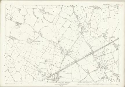Staffordshire XVI.15 (includes: Maer; Mucklestone; Woore) - 25 Inch Map