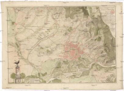 Neue topograph Karte der k. k. Haupt und Residenz Stadt Wien