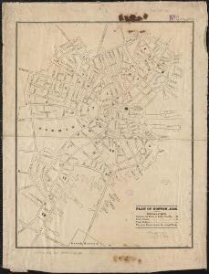 Plan of Boston, 1828