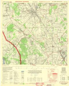 Germany 1:25,000, Geldern (Administrative Boundaries)