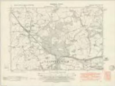 Glamorgan XIV.NE - OS Six-Inch Map