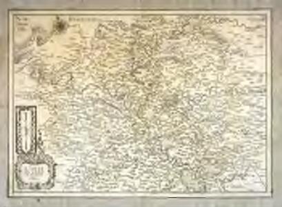 Carte de l'Isle de France et Brie