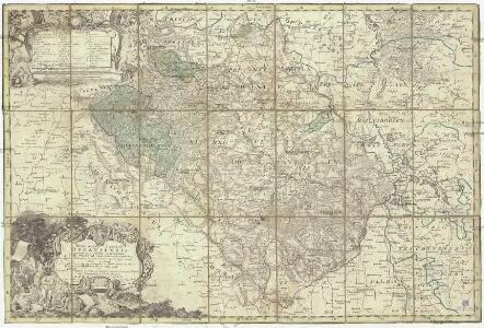 Principatvs Silesiae Oppaviensis novissima tabula geographica