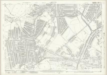 Staffordshire LXXII.7 (includes: Birmingham; Smethwick; Warley Woods) - 25 Inch Map