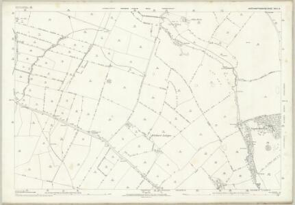 Northamptonshire XXIII.9 (includes: Cold Ashby; Elkington; Naseby; Sulby; Welford) - 25 Inch Map