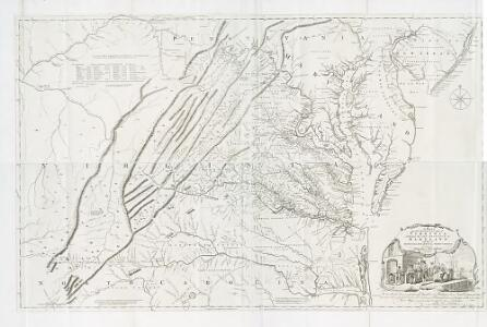 A map of the most inhabited part of Virginia containing the whole province of Maryland: with part of Pensilvania, New Jersey and North Carolina / drawn by Joshua Fry & Peter Jefferson in 1751; engrav'd ... by Thos. Jefferys ...