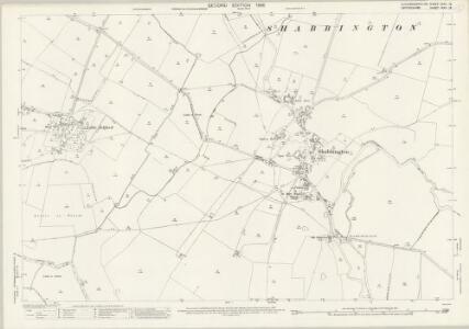 Buckinghamshire XXXII.13 (includes: Great Haseley; Ickford; Shabbington) - 25 Inch Map