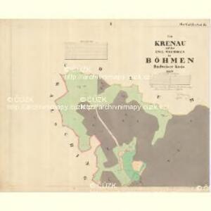 Weichseln - c8980-1-001 - Kaiserpflichtexemplar der Landkarten des stabilen Katasters