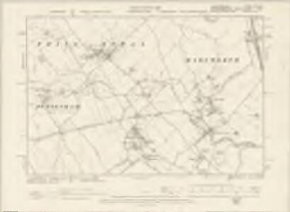 Hertfordshire XXV.NW - OS Six-Inch Map