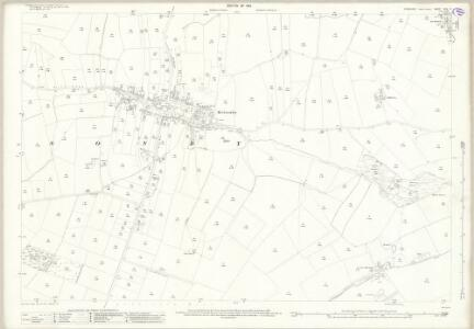 Yorkshire XXV.10 (includes: Aldbrough; Barton; Melsonby; Middleton Tyas) - 25 Inch Map