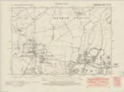 Bedfordshire XXVI.SW - OS Six-Inch Map
