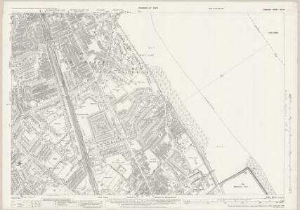 Cheshire XIII.12 (includes: Bebington and Bromborough; Birkenhead St Mary) - 25 Inch Map