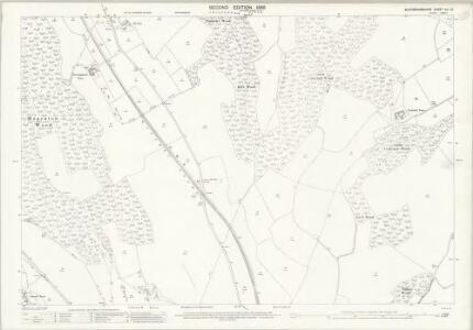 Buckinghamshire XLI.12 (includes: Bradenham; High Wycombe; West Wycombe Rural) - 25 Inch Map