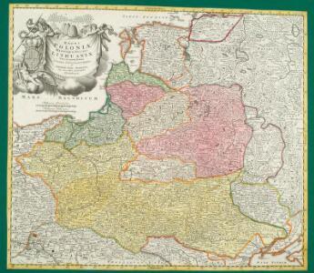 Regni Poloniae Magnique Ducat[us] Lithuaniae Nova et exacta Tabula