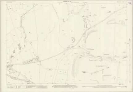 Derbyshire IX.11 (includes: Peak Forest) - 25 Inch Map