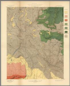 Plate CXV.  Sonora Quadrangle, California.  Land Classification and Density of Standing Timber.