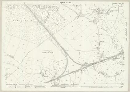 Lancashire CIX.8 (includes: Croft; Golborne; Irlam; Rixton With Glazebrook) - 25 Inch Map