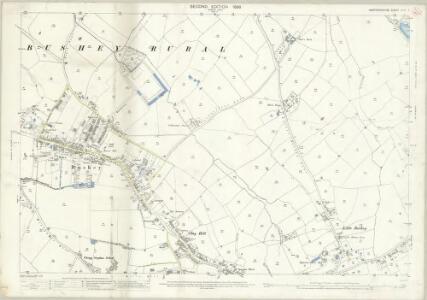 Hertfordshire XLIV.7 (includes: Bushey) - 25 Inch Map