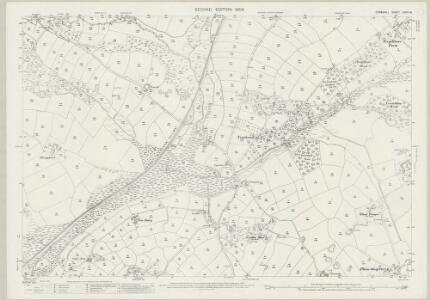 Cornwall LXVIII.16 (includes: Ludgvan; Marazion; St Hilary) - 25 Inch Map