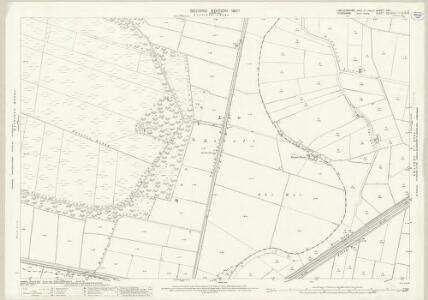 Lincolnshire XXV.1 (includes: Epworth; Hatfield; Wroot) - 25 Inch Map