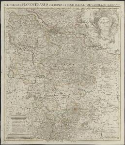 L'electorat de Hannover ou les domaines du roi de la Grande Bretagne en Allemagne = Electoratus Hanoveranus sive dominia regis Magnae Brittanniae in Germania