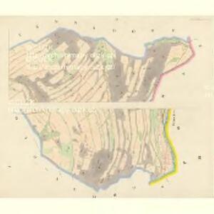 Klein Glockersdorf (Male Klokočowo) - m1204-1-001 - Kaiserpflichtexemplar der Landkarten des stabilen Katasters